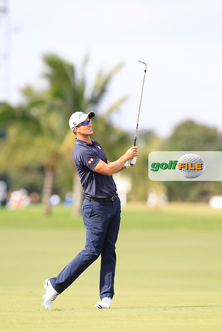 Adam Scott (AUS) during the 3rd round at the WGC Cadillac Championship, Blue Monster, Trump National Doral, Doral, Florida, USA<br /> Picture: Fran Caffrey / Golffile