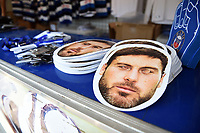A general view of Matt Banahan masks. Aviva Premiership match, between Bath Rugby and London Irish on May 5, 2018 at the Recreation Ground in Bath, England. Photo by: Patrick Khachfe / Onside Images