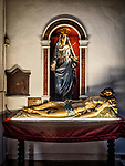 Immaculate heart of Mary, the body of Christ, Church of Santa Croce, Vinici, Italy<br /> <br /> Church where Leonardo was baptized as a child in the 15th century