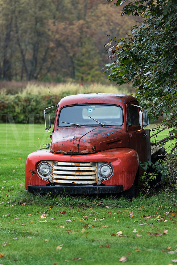 Old abandoned truck, Vermont, USA.