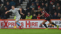 West Ham United's Aaron Cresswell (left) under pressure from Bournemouth's Nathaniel Clyne (right) <br /> <br /> Photographer David Horton/CameraSport<br /> <br /> The Premier League - Bournemouth v West Ham United - Saturday 19 January 2019 - Vitality Stadium - Bournemouth<br /> <br /> World Copyright © 2019 CameraSport. All rights reserved. 43 Linden Ave. Countesthorpe. Leicester. England. LE8 5PG - Tel: +44 (0) 116 277 4147 - admin@camerasport.com - www.camerasport.com