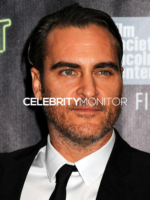 NEW YORK CITY, NY, USA - OCTOBER 04: Joaquin Phoenix arrives at the 52nd New York Film Festival - 'Inherent Vice' Centerpiece Gala Presentation & World Premiere held at Alice Tully Hall on October 4, 2014 in New York City, New York, United States. (Photo by Celebrity Monitor)