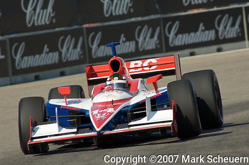 2 Sepember 2007: Darren Manning (XEN) at the Detroit Belle Isle Grand Prix, Detroit, MI