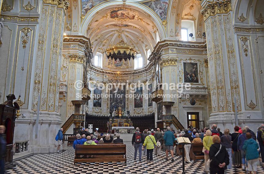 Interior,Cattedrale (Duomo) di Bergamo e Battistero, Bergamo, Italy, September, 2014, 201410073797<br /> <br /> Copyright Image from Victor Patterson, 54 Dorchester Park, Belfast, UK, BT9 6RJ<br /> <br /> t: +44 28 9066 1296<br /> m: +44 7802 353836<br /> vm +44 20 8816 7153<br /> <br /> e1: victorpatterson@me.com<br /> e2: victorpatterson@gmail.com<br /> <br /> www.victorpatterson.com<br /> <br /> IMPORTANT: Please see my Terms and Conditions of Use at www.victorpatterson.com