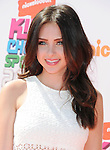 LOS ANGELES, CA- JULY 17: Actress Ryan Newman attends Nickelodeon Kids' Choice Sports Awards 2014 at Pauley Pavilion on July 17, 2014 in Los Angeles, California.
