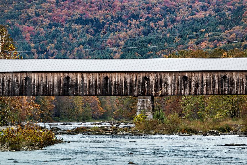 Dummerston Covered Bridge, Vermont, USA