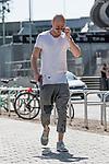 09.05.2018, Weserstadion, Bremen, GER, 1.FBL, Training SV Werder Bremen<br /> <br /> im Bild<br /> Luca Caldirola (Werder Bremen #03) nach dem Training, <br /> <br /> Foto &copy; nordphoto / Ewert