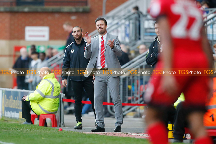 O's boss Danny Webb during Leyton Orient vs Grimsby Town, Sky Bet EFL League 2 Football at the Matchroom Stadium on 11th March 2017