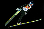 Michael Hayboeck of Austria during the Men's Normal Hill Individual of the 2014 Sochi Olympic Winter Games at Russki Gorki Ski Juming Center on February 9, 2014 in Sochi, Russia. Photo by Victor Fraile / Power Sport Images