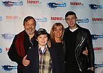 Broadway - 2017 New Year's Eve Times Square Ball Drop at the Copacabana, New York City, New York with Dale Badway and Ken Lundie and the Stars of Broadway. (Photo by Sue Coflin/Max Photos)  suemax13@optonline.net