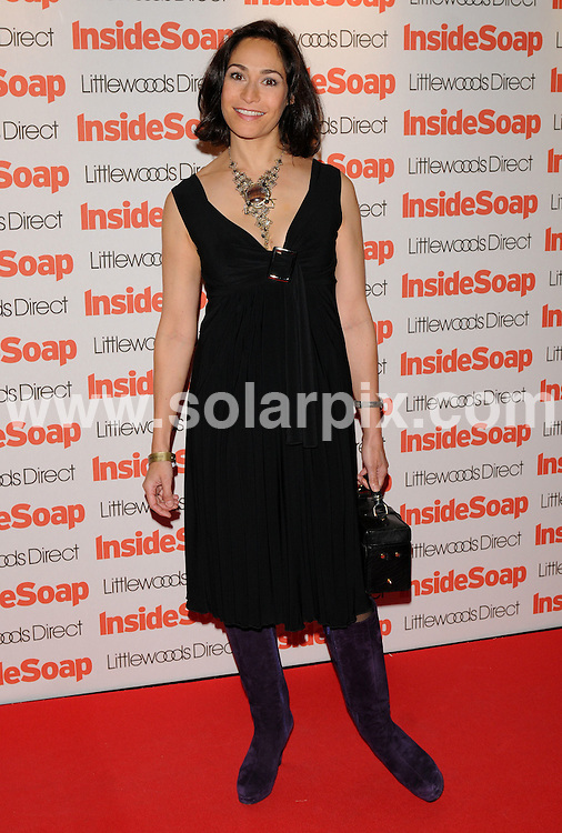 **ALL ROUND PICTURES FROM SOLARPIX.COM**.**WORLDWIDE SYNDICATION RIGHTS**.Guests arrive for the Inside Soap Awards at Gilgamesh in Camden, London, UK. 29th September 2008..This pic: Georgia Slowe..JOB REF: 7486 SSD     DATE: 29_09_2008.**MUST CREDIT SOLARPIX.COM OR DOUBLE FEE WILL BE CHARGED* *UNDER NO CIRCUMSTANCES IS THIS IMAGE TO BE REPRODUCED FOR ANY ONLINE EDITION WITHOUT PRIOR PERMISSION*