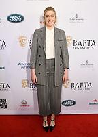 04 January 2020 - Beverly Hills, California - Greta Gerwig. The 2020 BAFTA Los Angeles Tea Party held at Four Seasons Los Angeles . Photo Credit: Birdie Thompson/AdMedia