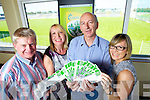 Getting the All Ireland Tickets allocated at the Kerry County Board were from left: Dermot Lynch, Treasurer Kerry County Board, Kate Carol, Kerry County Board, Peter Twiss, Secretary Kerry County Board and AIleen Foley, Kerry County Board,