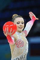 August 30, 2013 - Kiev, Ukraine - JASMINE KERBER of USA performs at 2013 World Championships.