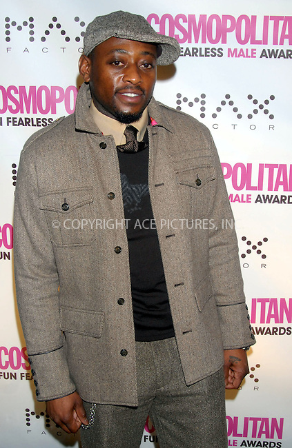 WWW.ACEPIXS.COM . . . . . ....January 22nd, 2007, New York City. ....Omar Epps attends the Cosmopolitan Magazine Honoring Nick Lachey as Fun Fearless Man of the Year at Cipriani. ......Please byline: KRISTIN CALLAHAN - ACEPIXS.COM.. . . . . . ..Ace Pictures, Inc:  ..(212) 243-8787 or (646) 769 0430..e-mail: info@acepixs.com..web: http://www.acepixs.com