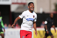Angelo Balanta of Dagenham and Redbridge during Dagenham & Redbridge vs Hartlepool United, Vanarama National League Football at the Chigwell Construction Stadium on 14th September 2019