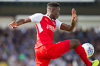 Devante Cole of Fleetwood Town during the Sky Bet League 1 match between Bristol Rovers and Fleetwood Town at the Memorial Stadium, Bristol, England on 26 August 2017. Photo by Mark  Hawkins.