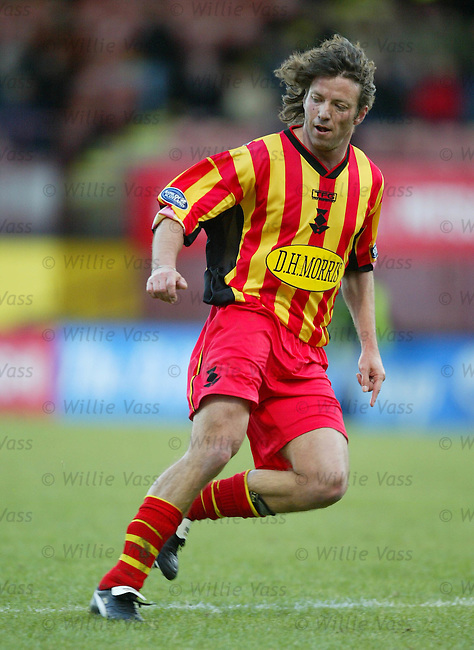 Jorge Cadete, Partick Thistle.Stock Season 2003-2004.pic willie vass