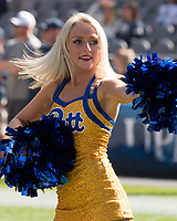 Pitt Panther dance girl. The North Carolina Wolfpack defeated the Pitt Panthers 35-17 at Heinz Field, Pittsburgh, PA on October 14, 2017.