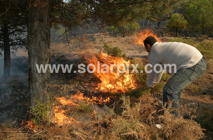 **ALL ROUND PICTURES FROM SOLARPIX.COM**                                             **WORLDWIDE SYNDICATION RIGHTS EXCEPT SPAIN &amp; SOUTH AMERICA - NO SYNDICATION IN SPAIN OR SOUTH AMERICA**                                                                                  Caption: A British man who destroyed 5,000 acres of forest in the Sierra Nevada national park after lighting a fire when he got lost, has been jailed for 18 months.<br />