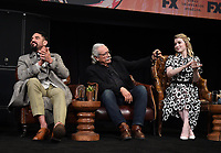 """HOLLYWOOD - MAY 29: Clayton Cardenas, Edward James Olmos, and Sarah Bolger attend the FYC event for FX's """"Mayans M.C."""" at Neuehouse Hollywood on May 29, 2019 in Hollywood, California. (Photo by Frank Micelotta/FX/PictureGroup)"""