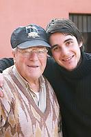 Gabriel, son of Eduardo Pisano. and the grandfather Pisano who founded the winery. Bodega Pisano Winery, Progreso, Uruguay, South America
