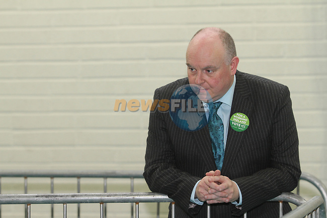 Ray Butler, Fine Gael TD as the Fiscal Treaty referendum votes are counted and sorted at the Meath West Count Centre in Trim...(Photo Jenny Matthews/www.newsfile.ie)