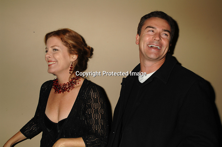 """Elizabeth Keifer and Kurt McKinney..at The P & G Christmas Party with cast memebers from """"As The World Turns"""" and """"Guiding Light"""" ..on December 6, 2006 at Providence in New York. ..Robin Platzer, Twin Images"""
