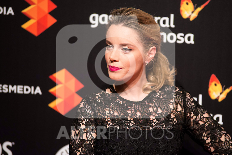 Carolina Bang attends to the cocktail presentation of the XIX Malaga Film Festival at Circulo de Bellas Artes in Madrid. April 06, 2016. (ALTERPHOTOS/Borja B.Hojas)