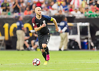 Glendale, AZ - Saturday June 25, 2016: Michael Bradley during a Copa America Centenario third place match match between United States (USA) and Colombia (COL) at University of Phoenix Stadium.
