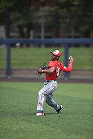 TEMPORARY UNEDITED FILE:  Image may appear lighter/darker than final edit - all images cropped to best fit print size.  <br /> <br /> Under Armour All-American Game presented by Baseball Factory on July 19, 2018 at Les Miller Field at Curtis Granderson Stadium in Chicago, Illinois.  (Mike Janes/Four Seam Images) Jerrion Ealy is an outfielder from Jackson Preparatory High School in Carthage Mississippi committed to Ole Miss.