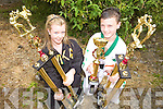 CHAMPS:  Naomi O'Brien (Tralee) and Daniel O'Sullivan (Killarney) won first place at the International German Championships over the weekend.