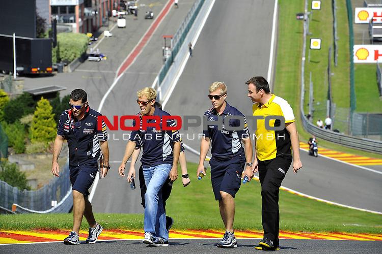 22.08 - 25.08.2013, Circuit de Spa, Francorchamps, BEL, F1, Grosser Preis von Belgien, im Bild  Sebastian Vettel (GER), Red Bull Racing <br />  Foto &copy; nph / Mathis