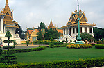 The Royal Palace, in Phnom Penh, Cambodia, is a complex of buildings which serves as the royal residence of the king of Cambodia. Its full name in the Khmer language is Preah Barum Reachea Veang Chaktomuk Serei Mongkol. The Kings of Cambodia have occupied it since it was built in 1860s, with a period of absence when the coun…