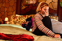 Amarillo - Monika is a 17-year-old girl who was in a long-distance relationship with Trolley Square gunman Suljeman Talovic in the final sixteen days of his life. She was photographed in her bedroom in Amarillo, Texas..; 3.10.2007