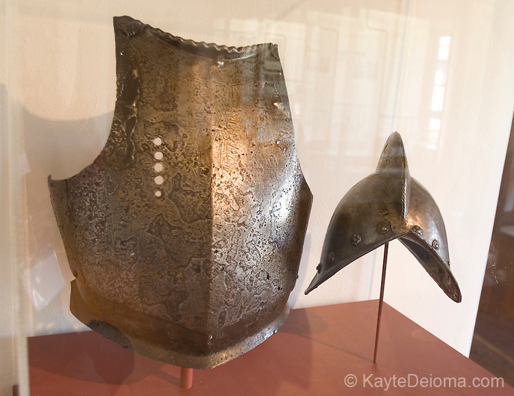 Spanish Colonial Armor, Palace of the Governors, Museum of New Mexico, Santa Fe, New Mexico