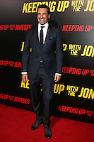"""LOS ANGELES, CA - OCTOBER 8: Jon Hamm at the """"Keeping Up with the Joneses"""" Red Carpet Event at Twentieth Century Fox Studios in Los Angeles, California on October 8, 2016. Credit: David Edwards/MediaPunch"""