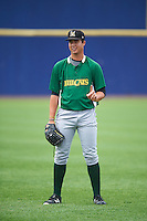 Lynchburg Hillcats pitcher Luis Lugo (47) during practice before a game against the Wilmington Blue Rocks on June 3, 2016 at Judy Johnson Field at Daniel S. Frawley Stadium in Wilmington, Delaware.  Lynchburg defeated Wilmington 16-11 in ten innings.  (Mike Janes/Four Seam Images)