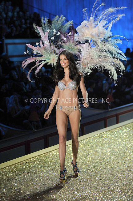 WWW.ACEPIXS.COM . . . . .....November 10 2010, New York City....Adriana Lima on the runway during the 2010 Victoria's Secret Fashion Show at the Lexington Armory on November 10, 2010 in New York City.  ....Please byline: KRISTIN CALLAHAN - ACEPIXS.COM.. . . . . . ..Ace Pictures, Inc:  ..(212) 243-8787 or (646) 679 0430..e-mail: picturedesk@acepixs.com..web: http://www.acepixs.com