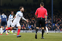Ben Close of Portsmouth celebrates scoring the second goal during Southend United vs Portsmouth, Sky Bet EFL League 1 Football at Roots Hall on 16th February 2019