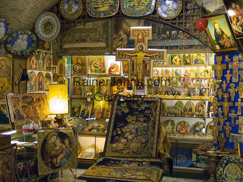 ITA, Italien, Umbrien, Assisi: Devotionalien | ITA, Italy, Umbria, Assisi: devotional objects