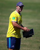 DURBAN, SOUTH AFRICA -Monday February 18th: Leon MacDonald (head coach) of the Blues during the Blues Training at Northwood School Durban North, on February 18th, 2019 in Durban, South Africa. (Photo by Steve Haag / stevehaagsports.com)
