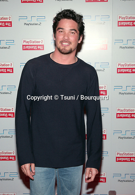 Dean Cain arriving at the grand opening of the Play Station 2 Hotel in downtown Los Angeles. May 21, 2002.           -            CainDean01A.jpg