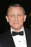 NON EXCLUSIVE PICTURE: PAUL TREADWAY / MATRIXPICTURES.CO.UK.PLEASE CREDIT ALL USES..WORLD RIGHTS..English actor Daniel Craig attends The Royal World Premiere of Skyfall, Royal Albert Hall, London...OCTOBER 23RD 2012..REF: PTY 124755