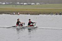 062 SirWBorlasesGSBC J16A.2x..Marlow Regatta Committee Thames Valley Trial Head. 1900m at Dorney Lake/Eton College Rowing Centre, Dorney, Buckinghamshire. Sunday 29 January 2012. Run over three divisions.