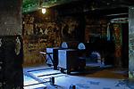 KL Auschwitz, piece w krematorium I<br /> KL Auschwitz, furnaces in crematorium I.