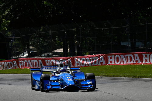 Verizon IndyCar Series<br /> Honda Indy 200 at Mid-Ohio<br /> Mid-Ohio Sports Car Course, Lexington, OH USA<br /> Sunday 30 July 2017<br /> Scott Dixon, Chip Ganassi Racing Teams Honda<br /> World Copyright: Scott R LePage<br /> LAT Images<br /> ref: Digital Image lepage-170730-to-10372