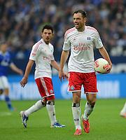FUSSBALL   1. BUNDESLIGA   SAISON 2012/2013    31. SPIELTAG FC Schalke 04 - Hamburger SV          28.04.2013 Heiko Westermann (Hamburger SV) enttaeuscht
