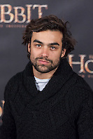 "Diego Osorio attends ""The Hobbit: An Unexpected Journey"" premiere at the Callao cinema- Madrid."