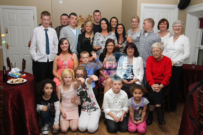 Stephanie Leonard with friends and family at her 30th in Harrys...Picture Jenny Matthews/Newsfile.ie